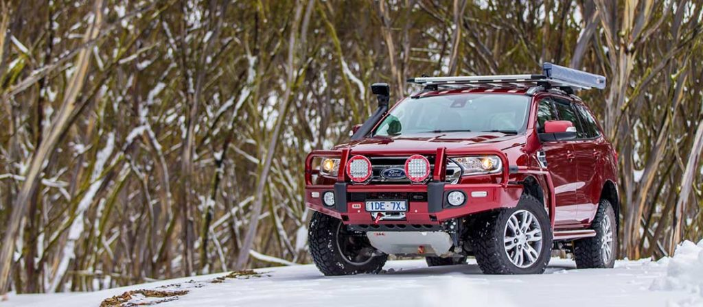 Ford Everest Summit Bull Bar - ARB Maroochydore