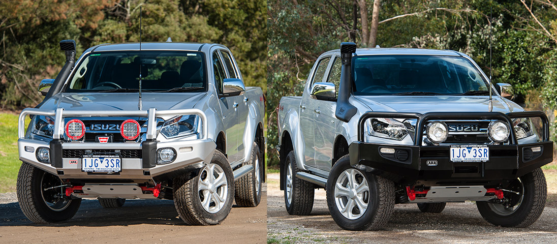Isuzu D Max Gets Protection Arb Maroochydore