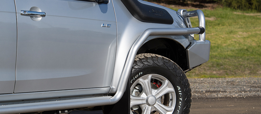 The Isuzu D Max 2016 Steps Up Its Protection Arb