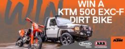 ARB Maroochydore Win a KTM 500