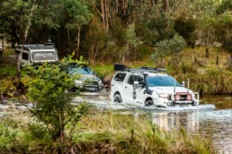 ARB Maroochydore R & D Testing for Caravan Towing